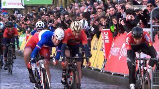 1re étape, Chatou-Meudon, 135 km: Arnaud Démare (FRA) s'impose devant Gorka Izagirre (ESP) [RTS]