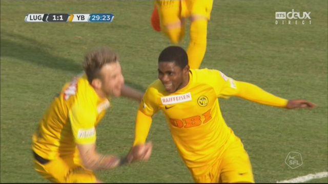 24e journée, Lugano - Young Boys (2-4): YB s'impose et creuse l'écart dans le classement [RTS]