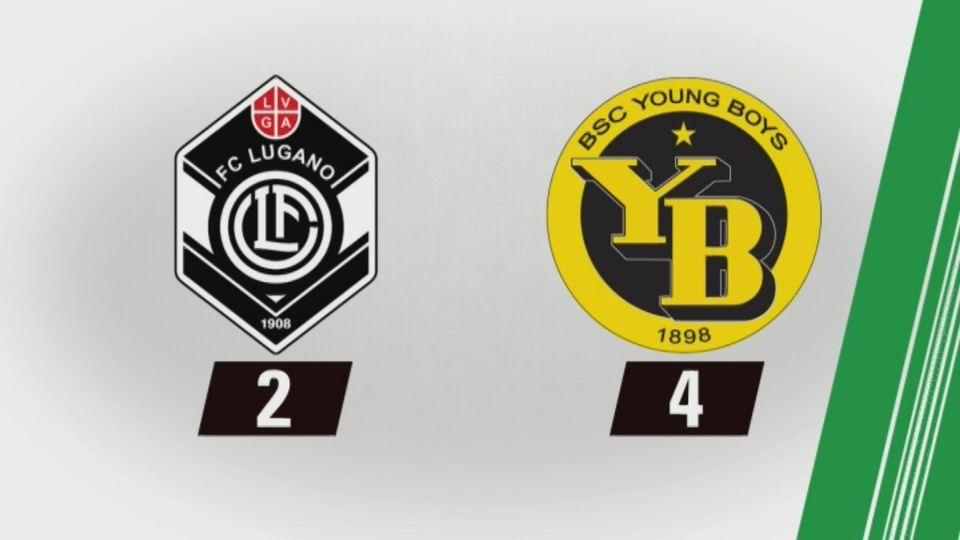 24e journée, Lugano - Berne (2-4): tous les buts [RTS]