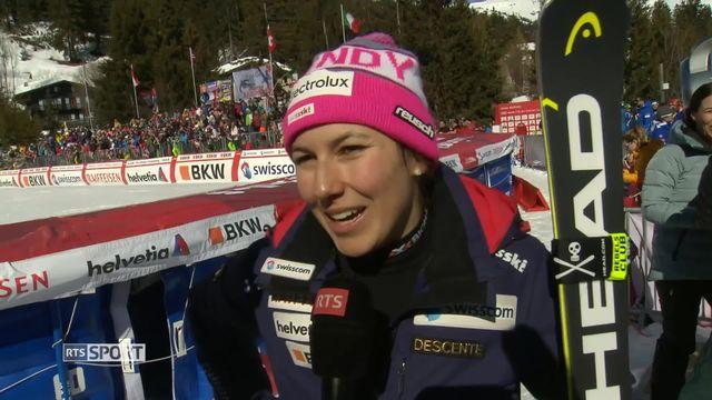 Ski alpin: Wendy Holdener remporte le globe du combiné [RTS]