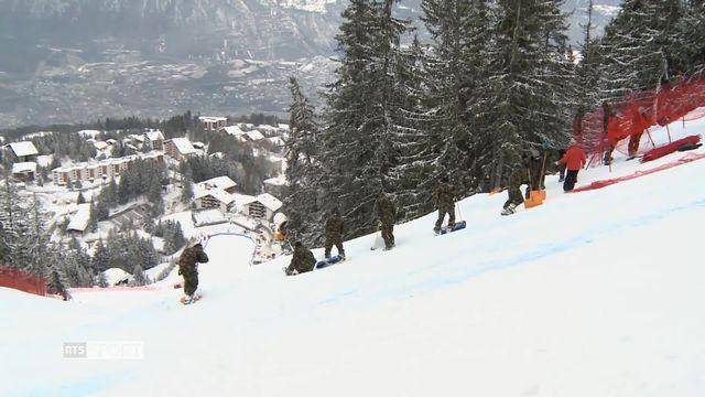 Ski - Crans Montana: plusieurs centaines de personnes mobilisées pour l'organisation [RTS]