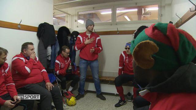 Le Cécifoot, du football adapté pour les personnes non-voyantes et malvoyantes [RTS]