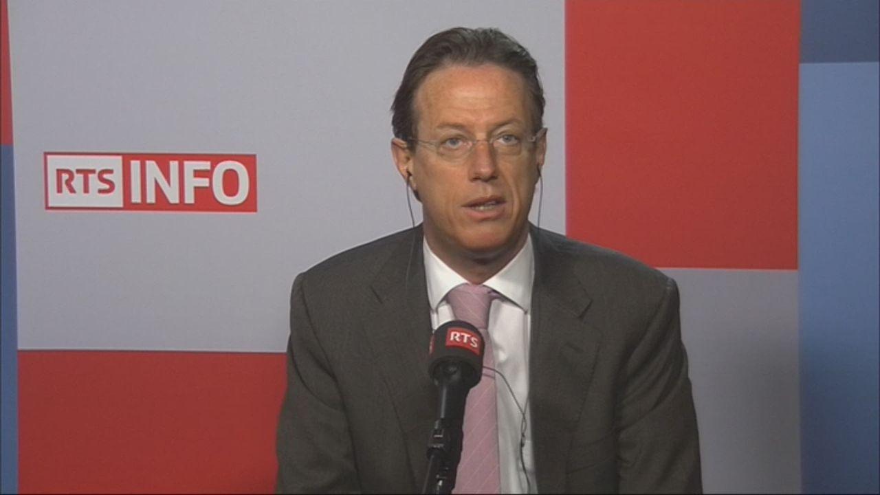 Christian Lüscher, conseiller national PLR genevois (vidéo) [RTS]