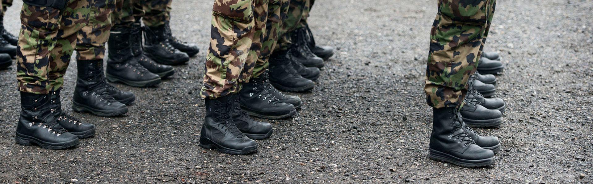 Le dossier sur l'armée suisse de RTS Découverte. Christian Beutler Keystone [Christian Beutler - Fotolia]