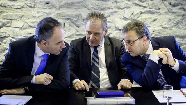 Le résultat des urnes entérine les divisions au sein du PDC valaisan. [Olivier Maire - Keystone]