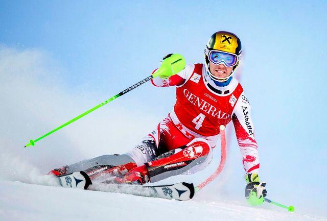 Coupe du monde, finales Slalom messieurs, 1re manche [MARCUS ERICSSON  - Keystone]