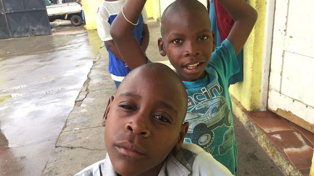Des enfants à Maputo, Mozambique. [Cédric Guigon - RTS]