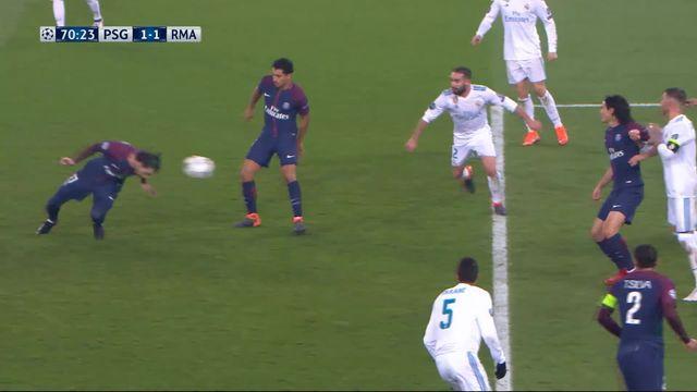 1-8e de finale, Paris SG - Real Madrid (1-1): Cavani 70e [RTS]