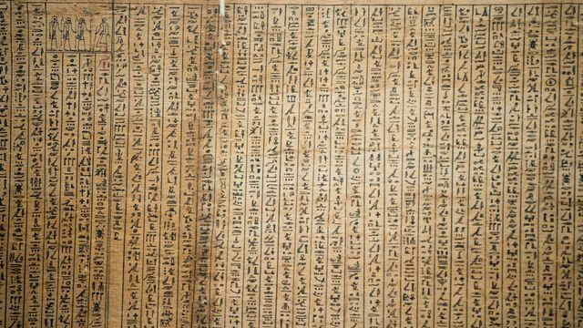 Un papyrus du Livre des morts des Anciens Egyptiens. [Andrea Izzotti - Fotolia]