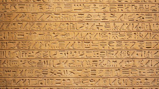 Des hiéroglyphes. [swisshippo - Fotolia]