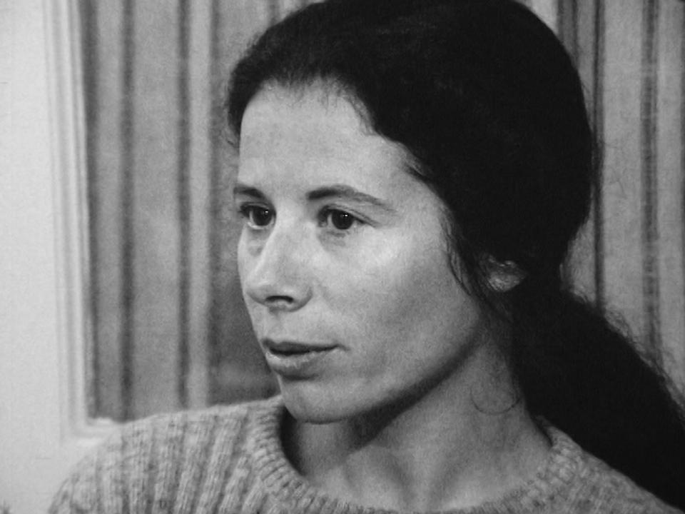Une militante du MLF suisse, 1972. [RTS]