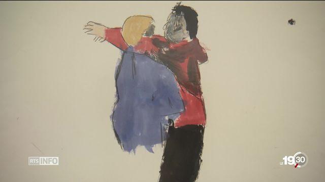 Le Centre Paul Klee à Berne présente les oeuvres de personnes atteintes de trisomie 21 [RTS]