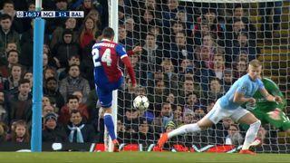 1-8e de finale, Manchester City - FC Bâle (1-1): Elyounoussi 17e [RTS]
