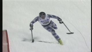Greg Mannino lors des paralympiques 1998 à Nagano. [RTS]