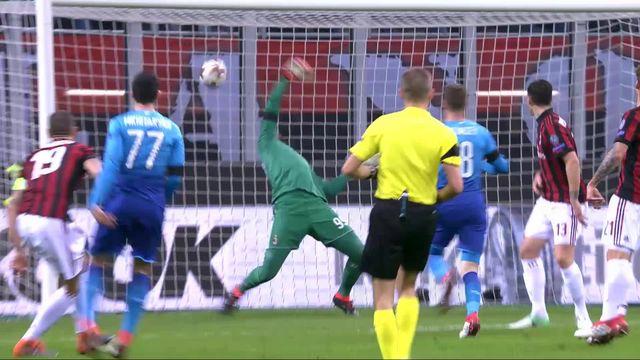 1-8e finale, AC Milan - Arsenal (0-2): Arsenal remporte le match aller [RTS]