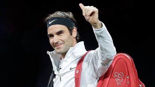 Federer s'est déjà imposé à cinq reprises à Indian Wells. [Jeff Chiu - Keystone]