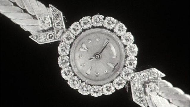 Une montre de luxe en 1960. [RTS]