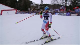 Ofterschwang (GER), Géant dames, 2e manche: Wendy Holdener (SUI) [RTS]