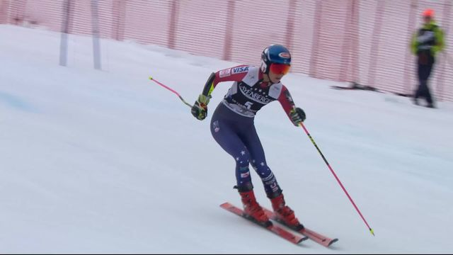 Ofterschwang (GER), Géant dames, 2e manche: Mikaela Shiffrin (USA) [RTS]