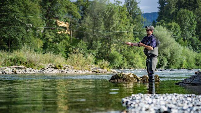 Le mois de mars signe l'ouverture de la saison de la pêche dans les rivières. [annieze - fotolia]