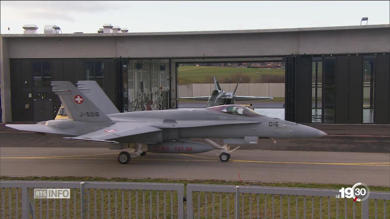 Avions de combat: les Suisses voteront sur le programme 2030 [RTS]
