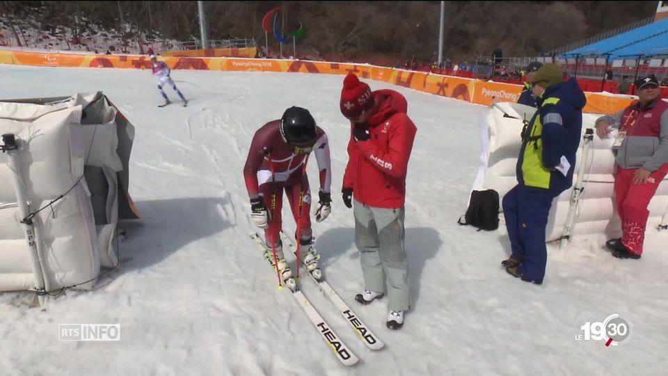 Jeux paralympiques: espoirs de médailles suisses [RTS]