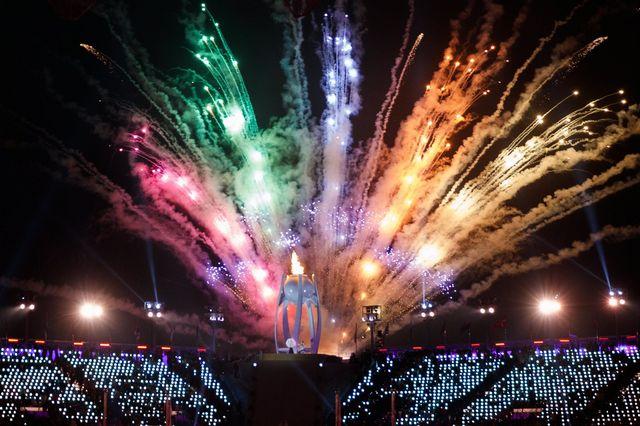 Les Jeux Paralympiques sont officiellement lancées ce 9 mars 2018. [Simon Bruty - Keystone]