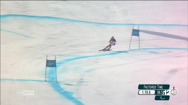 Jeux Paralympiques de PyeongChang: première médaille d'or pour la Suisse [RTS]