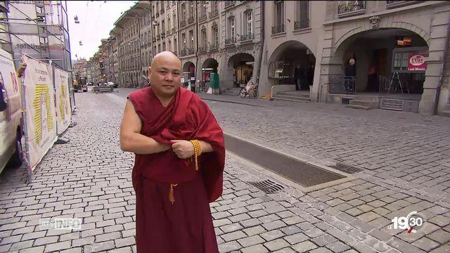 Tibétains de Suisse : l'inquiétude d'une ingérence chinoise [RTS]