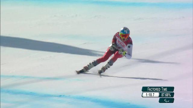 PyeongChang, super G messieurs: nouvelle médaille d'or de Théo Gmür [RTS]