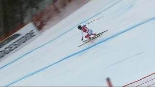 Kvitfjell (NOR), super G messieurs: Gilles Roulin (SUI) [RTS]
