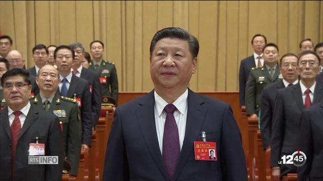 Chine: Xi Jinping obtient son ticket pour une présidence à vie [RTS]