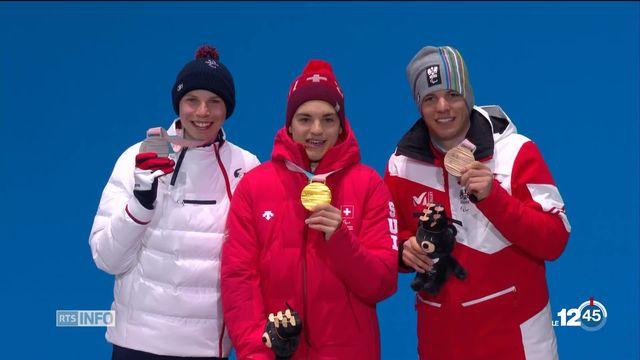 Paralympiques: médaille d'or pour le Valaisan Théo Gmür en Super-G [RTS]