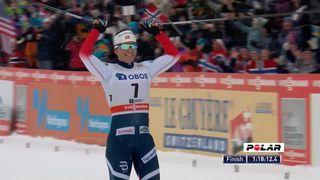 Oslo (NOR), 30 km dames: victoire de Marit Bjoergen (NOR), Von Siebenthal (SUI) termine 17e [RTS]