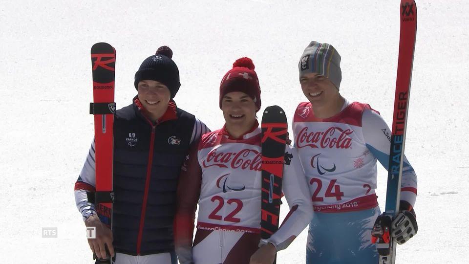 Jeux Paralympiques - Pyeongchang: Théo Gmür enchaîne les médailles d'or [RTS]