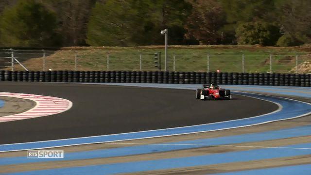 Mag de la rédaction: le Genevois Louis Delétraz entame une saison décisive en Formule 2 [RTS]