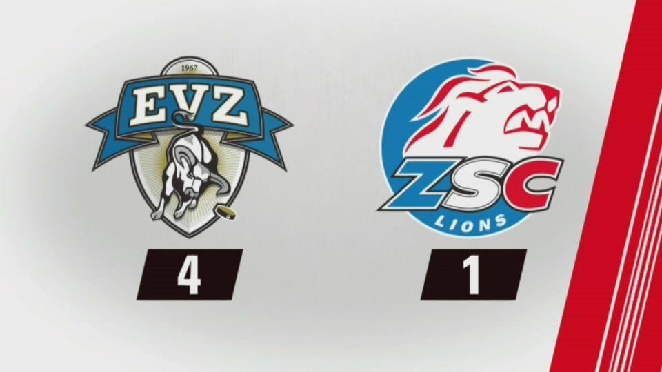 Acte 1, Zoug - Zurich (4-1): tous les buts [RTS]