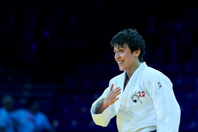 Evelyne Tschopp signe son 2e succès en Grand Prix. [Adam Nurkiewicz - Freshfocus]