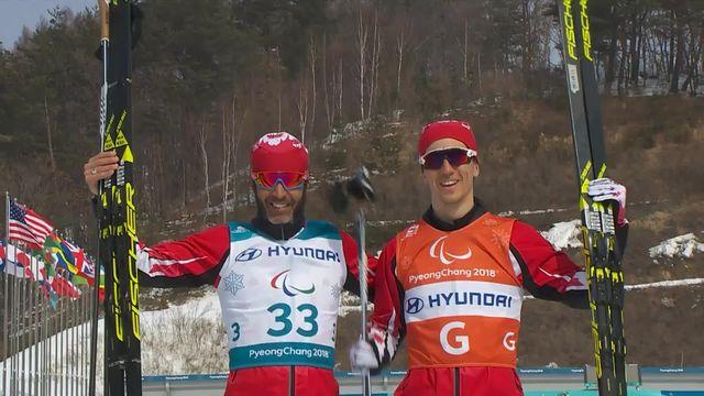20km libre messieurs: Brian McKeever remporte sa 11e médaille d'or à 38ans! [RTS]