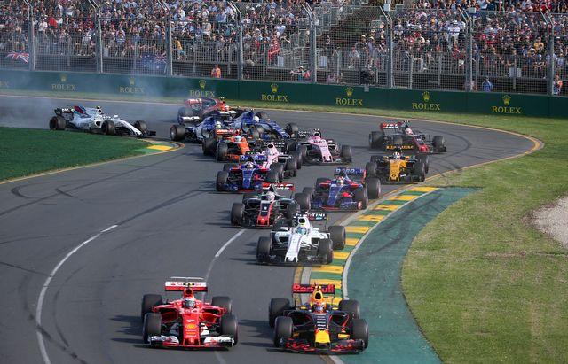 Automobilisme, grand prix d'Australie, essais qualificatifs, Melbourne [Rick Rycroft - Keystone]