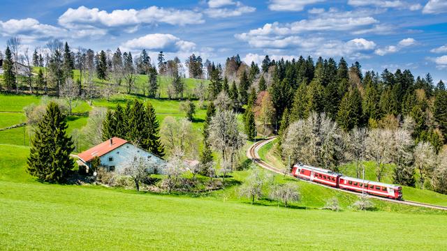 Le développement du Jura grâce au chemin de fer [Djama - Fotolia]
