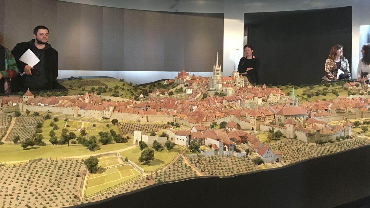 Le Musée historique de Lausanne a fait peau neuve pour son centenaire. [Pierre-Etienne Joye - RTS]