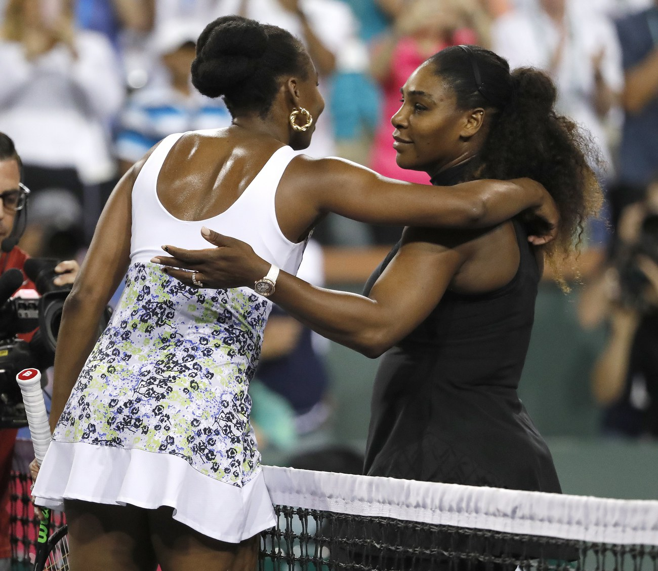 Le retour de Serena Williams stoppé par Venus — Indian Wells