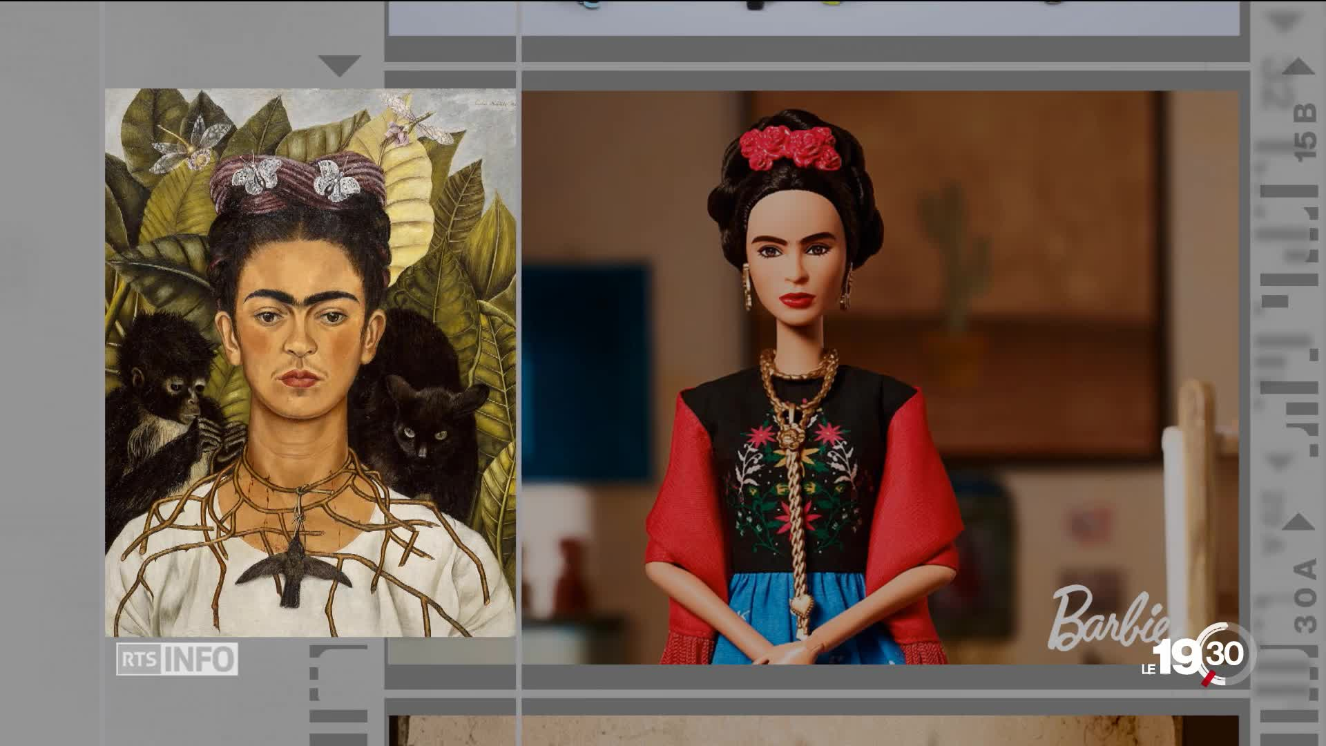 Chronique photo la barbie Frida Kahlo dans la tourmente