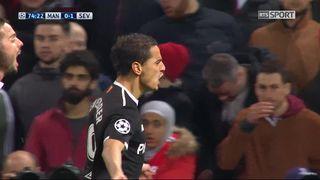 1-8e de finale, Manchester United – Séville (0-1): 74e Ben Yedder [RTS]
