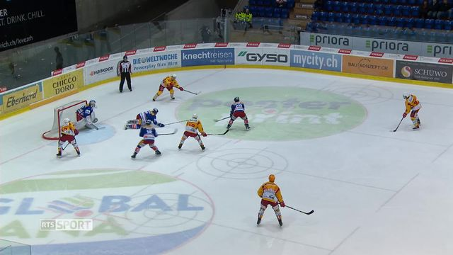 Hockey - Playouts (2ème j.) : Kloten – Laugnau (4 – 3) [RTS]