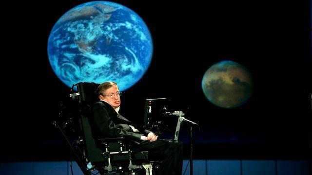 Stephen Hawking avait atteint un niveau exceptionnel de notoriété. [Stefan Zaklin - EPA/Keystone]