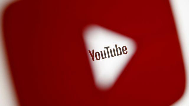 Le logo de la plateforme de vidéos en ligne YouTube. [Dado Ruvic - Reuters]