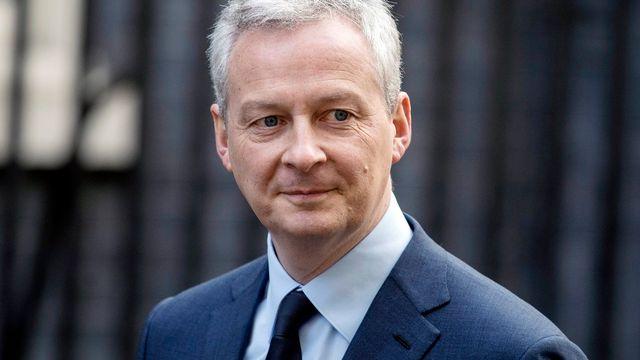 Le ministre français de l'Economie et des Finances Bruno Le Maire. [Will Oliver - EPA/Keystone]