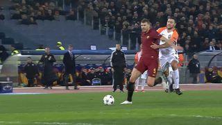 1-8e de finale, Rome - Shakhtar Donetsk (1-0): l'AS Rome se qualifie pour les 1-4 [RTS]